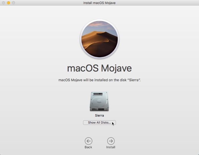 Install Macos Usb Show All Disks