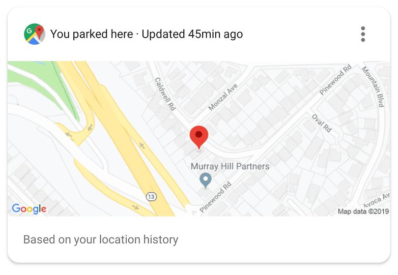 Assistant Parking location