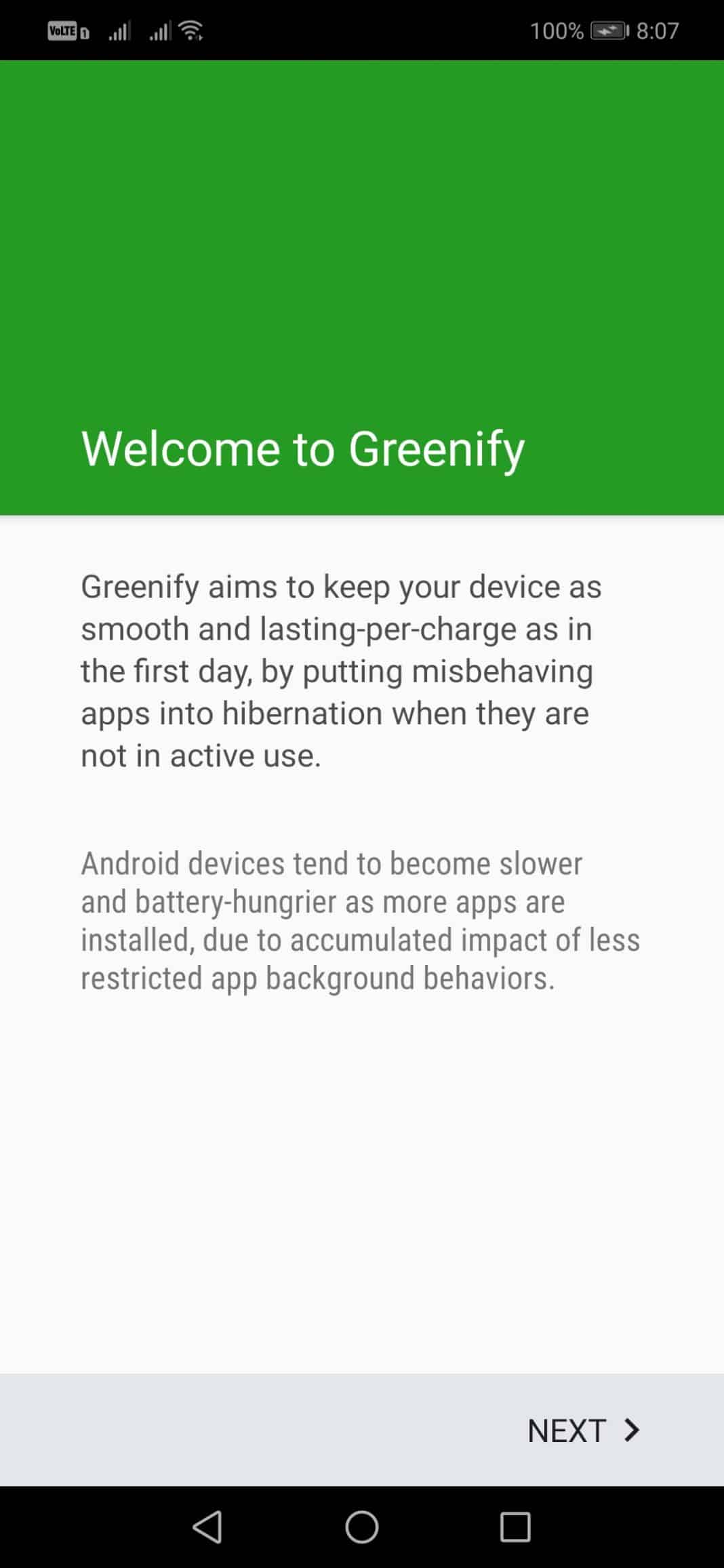How To Setup Greenify On Android Without Root