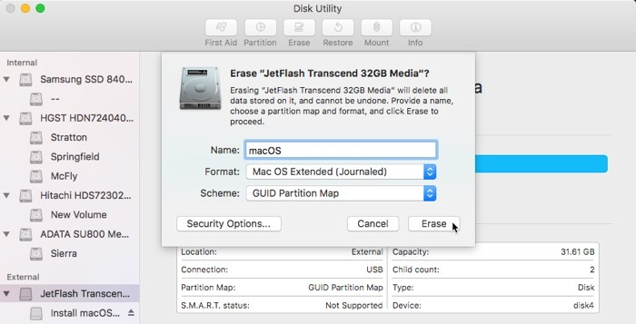 Install Macos Usb Format
