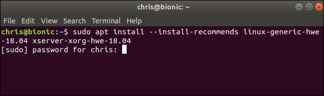 Installing Linux 5.0 on Ubuntu 18.04