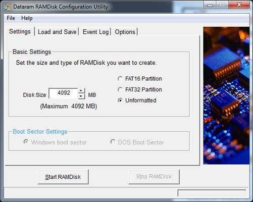 Use RAM As Hard Drive In Windows 10