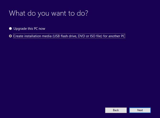 Create Bootable Windows 10 USB