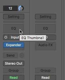 Logic Pro X Noise Removal Equalizer Adding