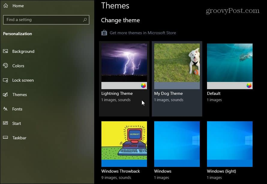 How to Create Your Own Custom Theme on Windows 10, ONLY infoTech