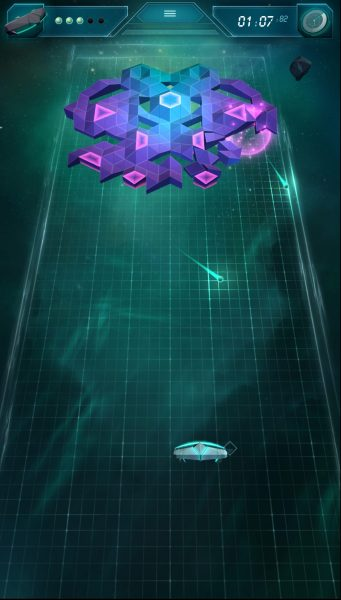 Arkanoid Rising streaming via Hatch Premium is virtually indistinguishable from having the game live on your device.