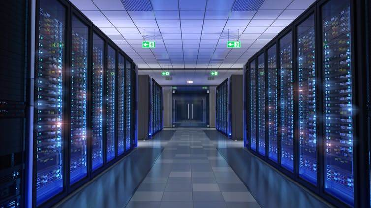 It's been estimated that Bitcoin data mining centres consume as much energy per year as the whole of Ireland. image credit: DR MANAGER/Shutterstock