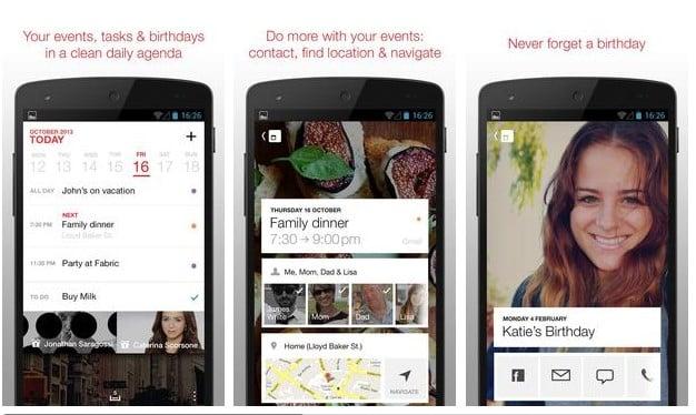 Cal – Google Calendar + Widget