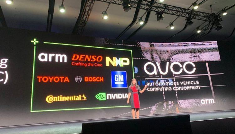 Arm unveils consortium for autonomous vehicle computing