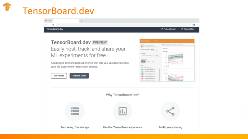 Google launches TensorBoard.dev and TensorFlow Enterprise