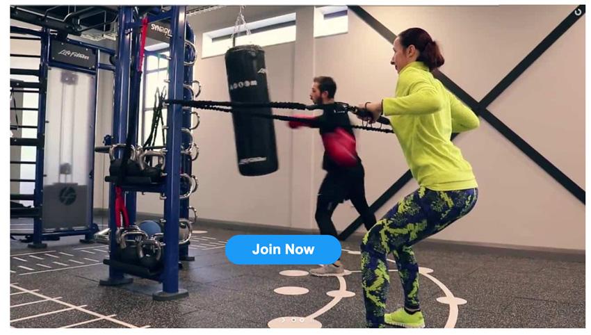 Layer Slider Gym Ad