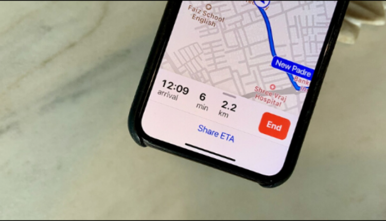 How to Share Your Apple Maps Live ETA on iPhone