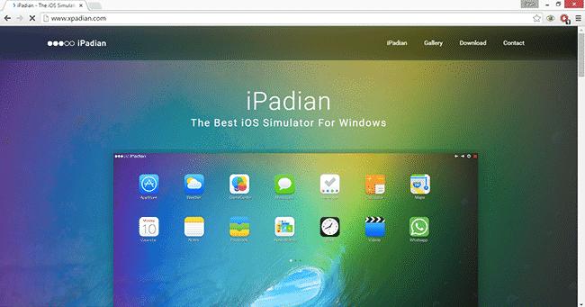 Usingipadian2 Emulator