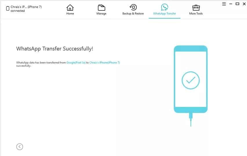 Using iCareFone - iOS WhatsApp Transfer, Backup & Restore