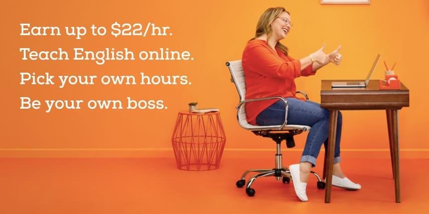 make money from home teaching english