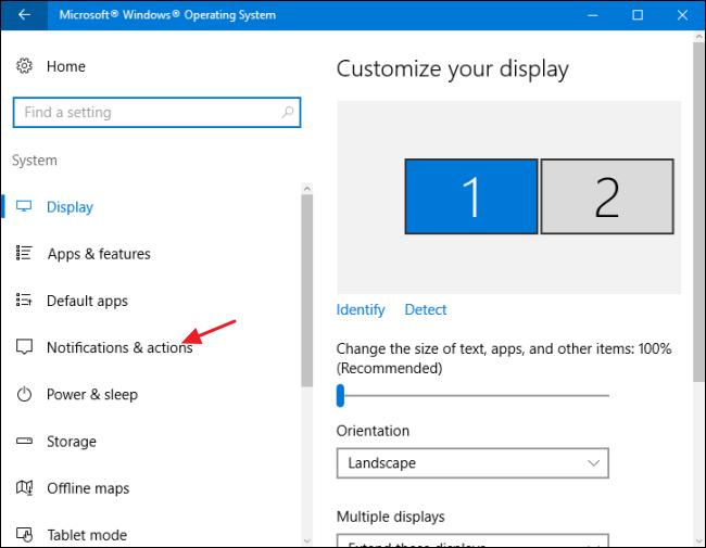 Set Notification Priorities for Apps in Windows 10