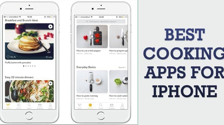 Best iPhone Apps to Take your Cooking to the Next Level