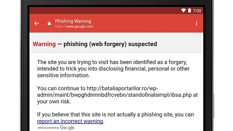 gmail phishing