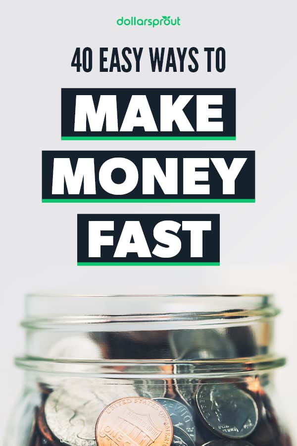 how to make money fast up to $100 in one day