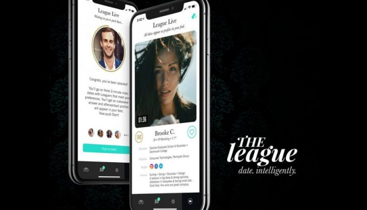 Dating app The League will pair up users for two-minute live video dates