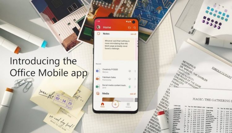Microsoft Introduces Unified Office App for iOS and Android