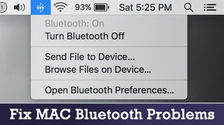Top 4 Methods to Fix MAC Bluetooth Problems