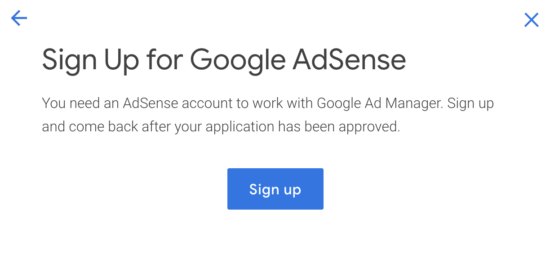 google ad manager setup