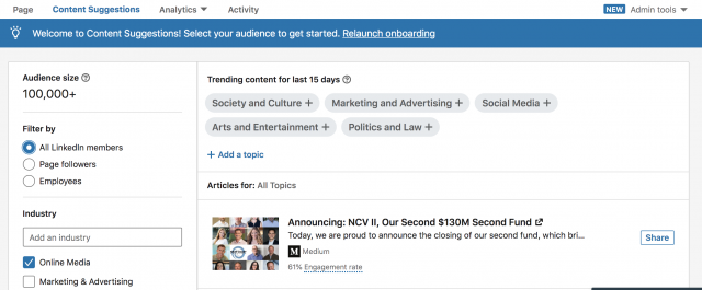 5 Best Practices When Creating a LinkedIn Company Page