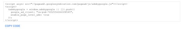 copy code