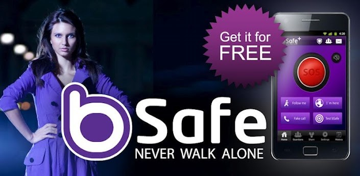bSafe- Personal Safety App