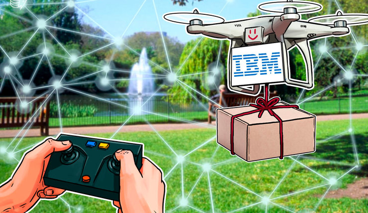 IBM Files A Blockchain Patent For Fighting Package Theft By Drone