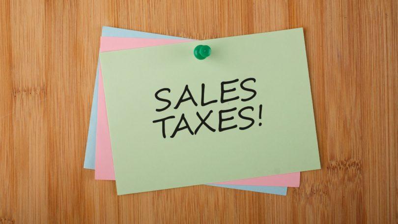 Sales Tax Post Its
