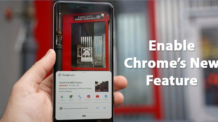 Enable Google Lens Reverse Image Search On Chrome for Android