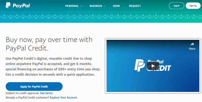 Is a PayPal Credit Account Right For You?