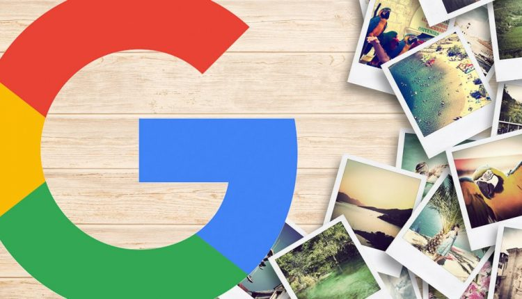 Google Images to replace dimensions overlay on image thumbnails
