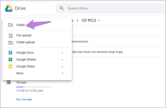 Google drive folder tips tricks 8