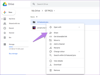 Google drive folder tips tricks 13