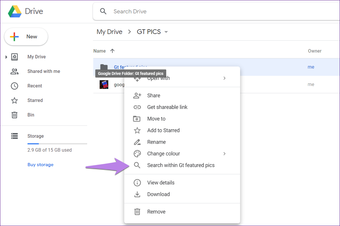 Google drive folder tips tricks 17