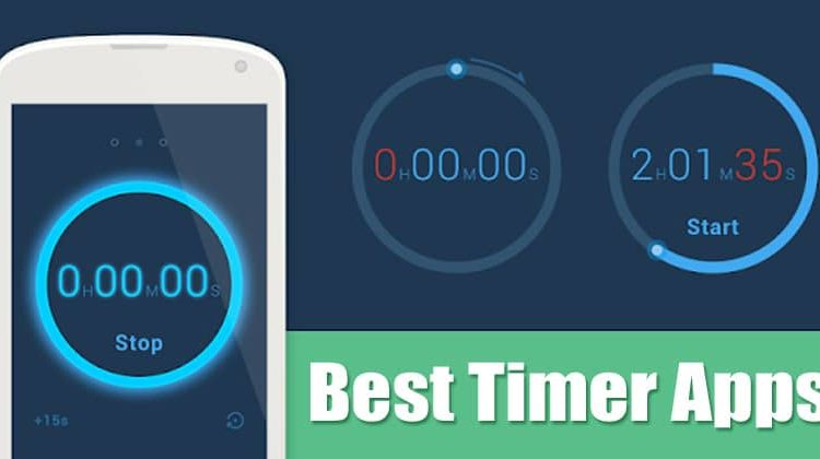 5 Best Timer Apps For Android Smartphone in 2020