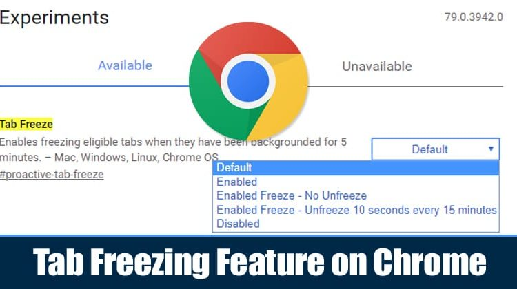 How To Enable and Use Tab Freezing Feature on Chrome