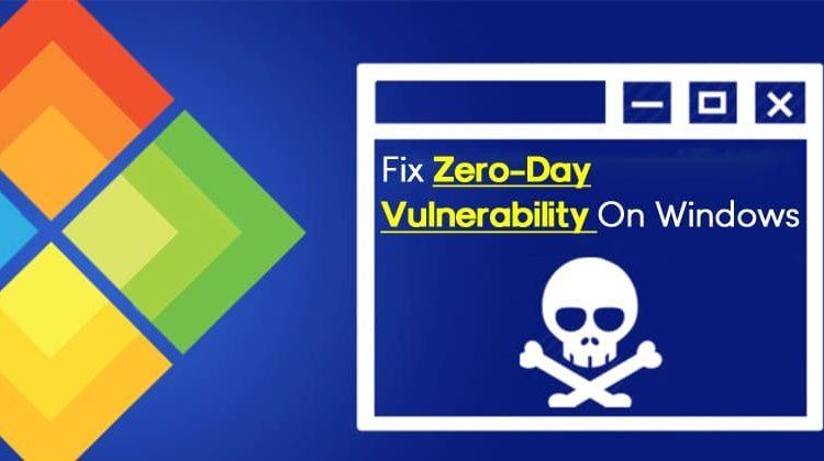How To Fix Zero-Day Vulnerability On Windows 10
