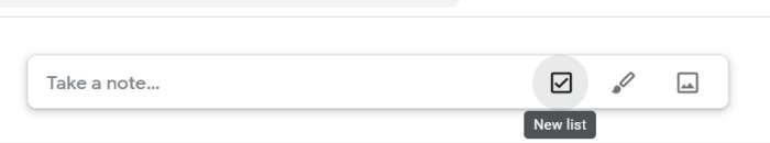 Google Keep Productivity New List
