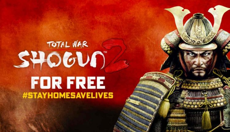 Total War: Shogun II game is now available for free till 1 May