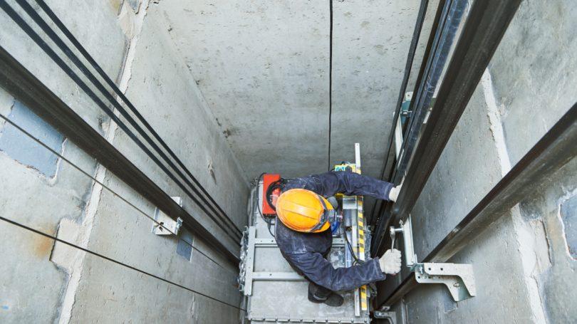 Elevator Installer Repairman Helmet