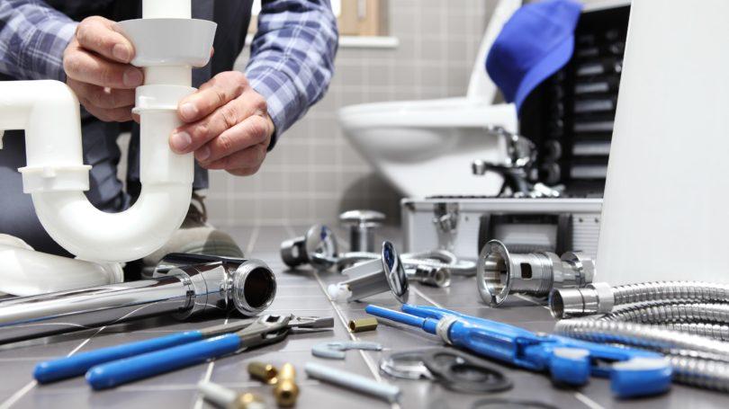 Plumber Toilet Tools Pipes Bathroom