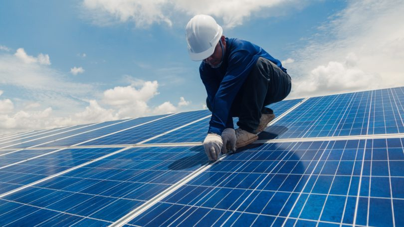 Solar Photovoltaic Installer Roof Clouds