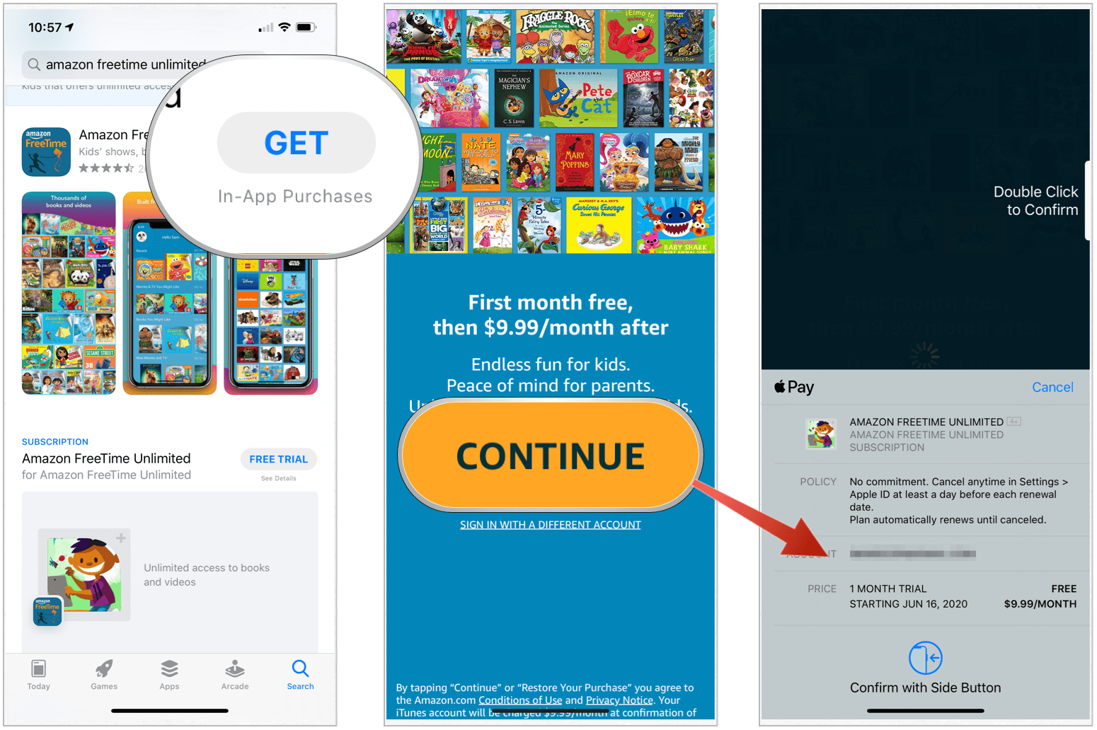 App Store Get button