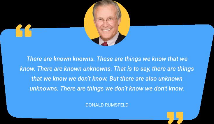 Donald Rumsfeld quote
