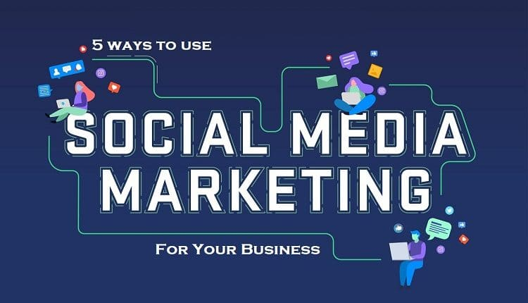 5 Ways To Use Social Media Marketing For Your Business